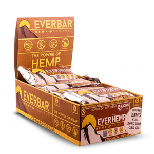 cinnamon ginger organic healthy hemp cbd protein bars everhemp