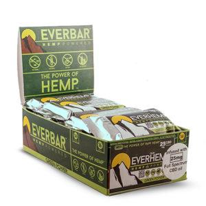 green power organic healthy hemp cbd protein bars everhemp