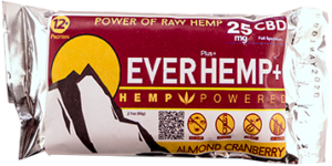 livity foods almond cranberry assortment mixed flavors variety pack everhemp everhempplus everhemp+ healthy natural hemp oil protein bars cbd edibles hemp power go forever