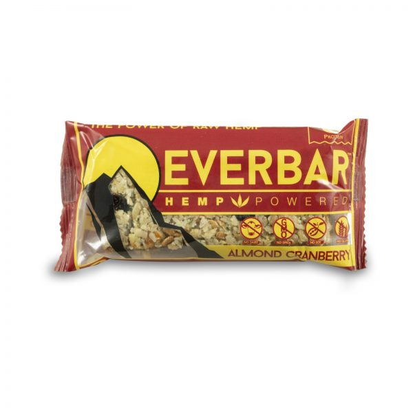 livity foods almond cranberry everbar everhemp healthy natural organic hemp protein bars edibles hemp oil hemp powered hemp power go forever high protein high fiber great taste tasty delicious deliciousness yummy no soy gluten free nongmo no dairy pesticide free lab tested athlete lifestyle workout muscle building mountain snack snacks