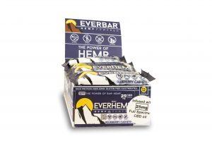 livity foods blueberry cashew everhemp everhempplus everhemp+ healthy natural hemp protein bars cbd edibles hemp power go forever