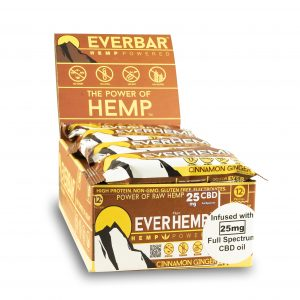 livity foods cinnamon ginger everhemp everhempplus everhemp+ healthy natural hemp protein bars cbd edibles hemp power go forever
