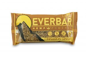 livity foods cinnamon ginger everbar healthy natural hemp protein bars edibles hemp power go forever