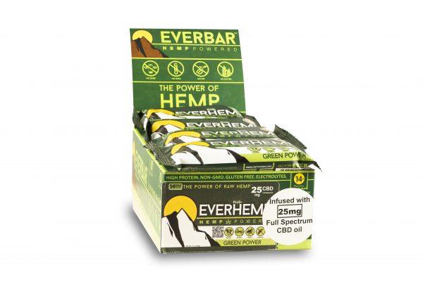 livity foods green power everhemp everhempplus everhemp+ healthy natural hemp protein bars cbd edibles hemp power go forever